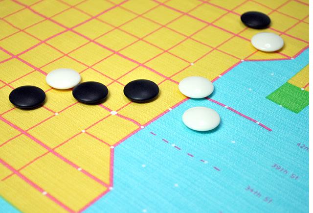 NY碁盤の目 イメージ